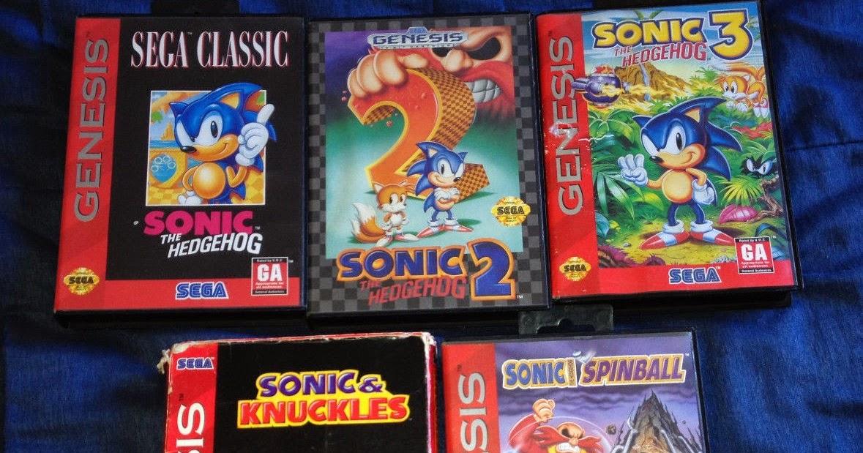 Retro Treasures: Sonic The Hedgehog: The Sega Genesis Years