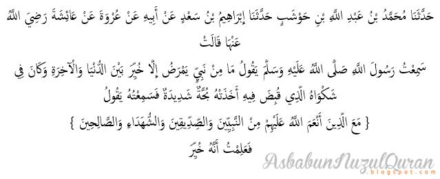 Quran Surat an Nisaa'[4] ayat 69|Penjelasan