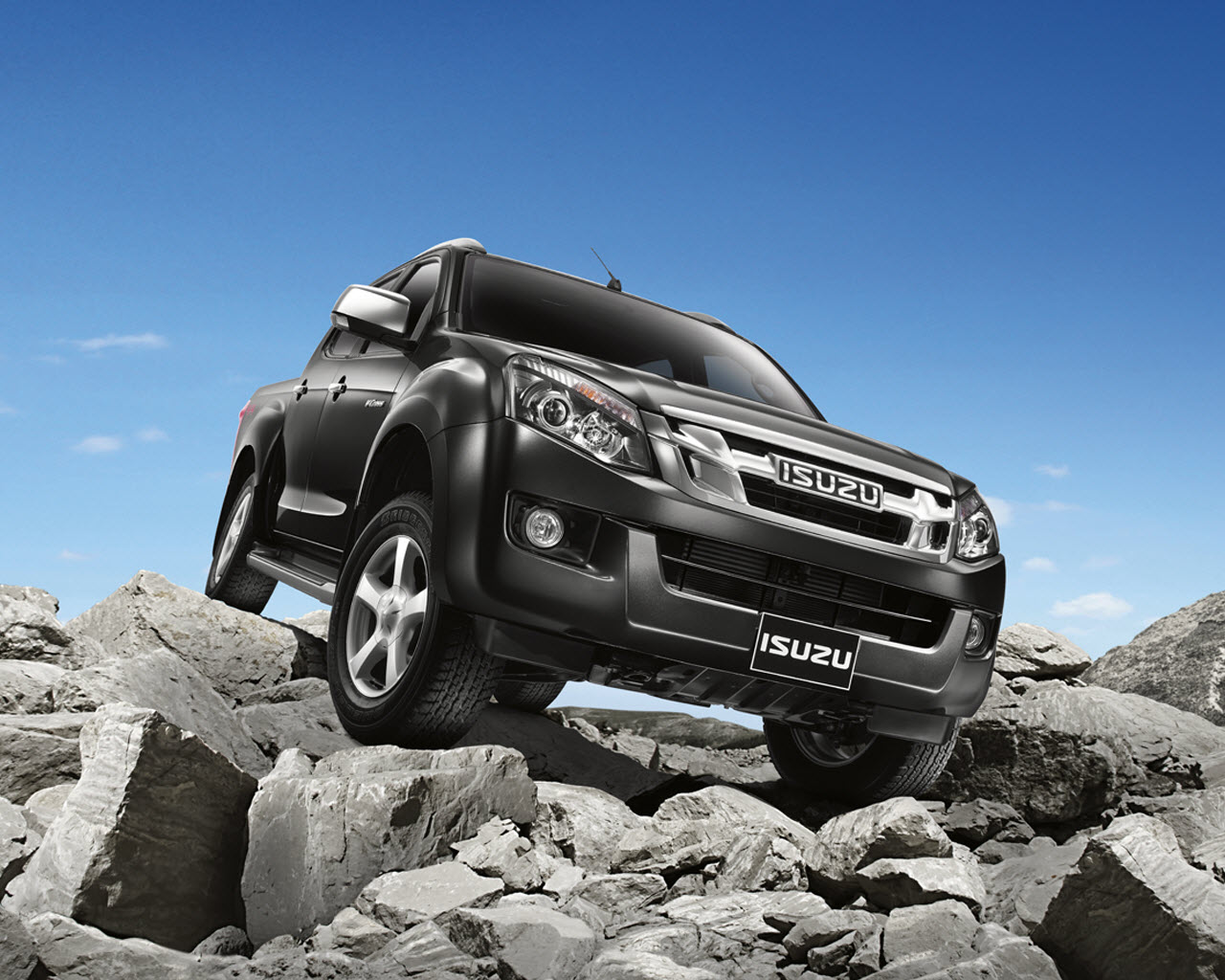New Isuzu D-Max pick-up will be introduced in June 2012 Aggressively