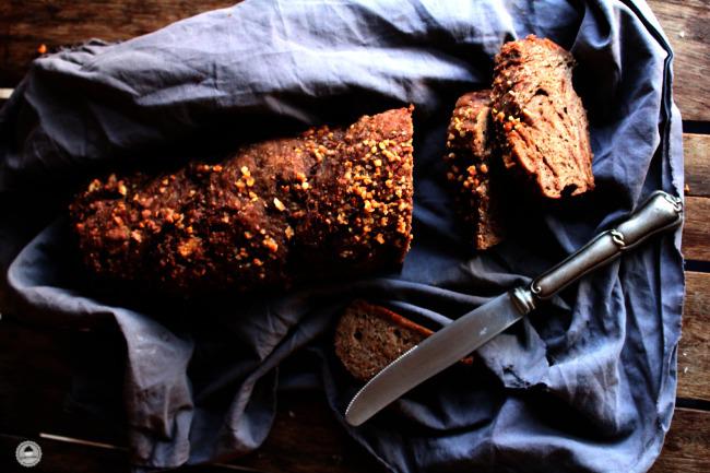 Chocolate Rye Bread 007