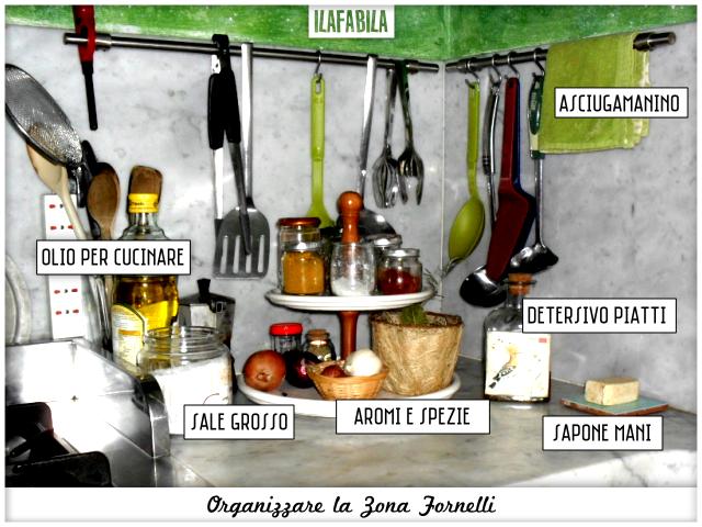 Cucina: Organizzare la Zona Cottura - Angolo Lavello