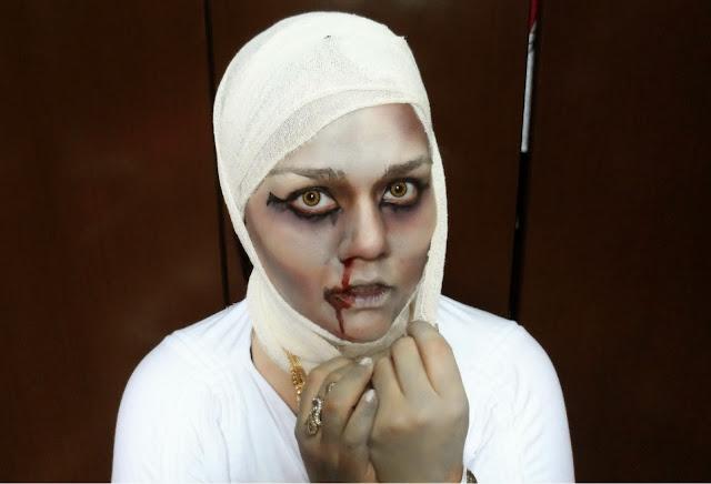 Tutorial de Maquiagem Halloween: A Múmia