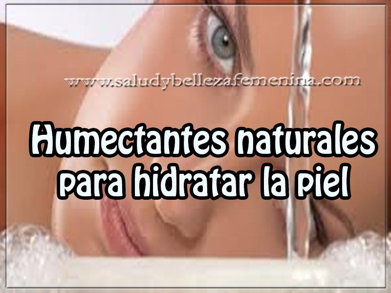 Cuidados de la piel , belleza, humectantes naturales para hidratar la piel