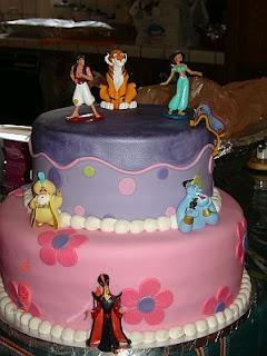 Tortas de Aladino para Fiestas Infantiles, parte 1
