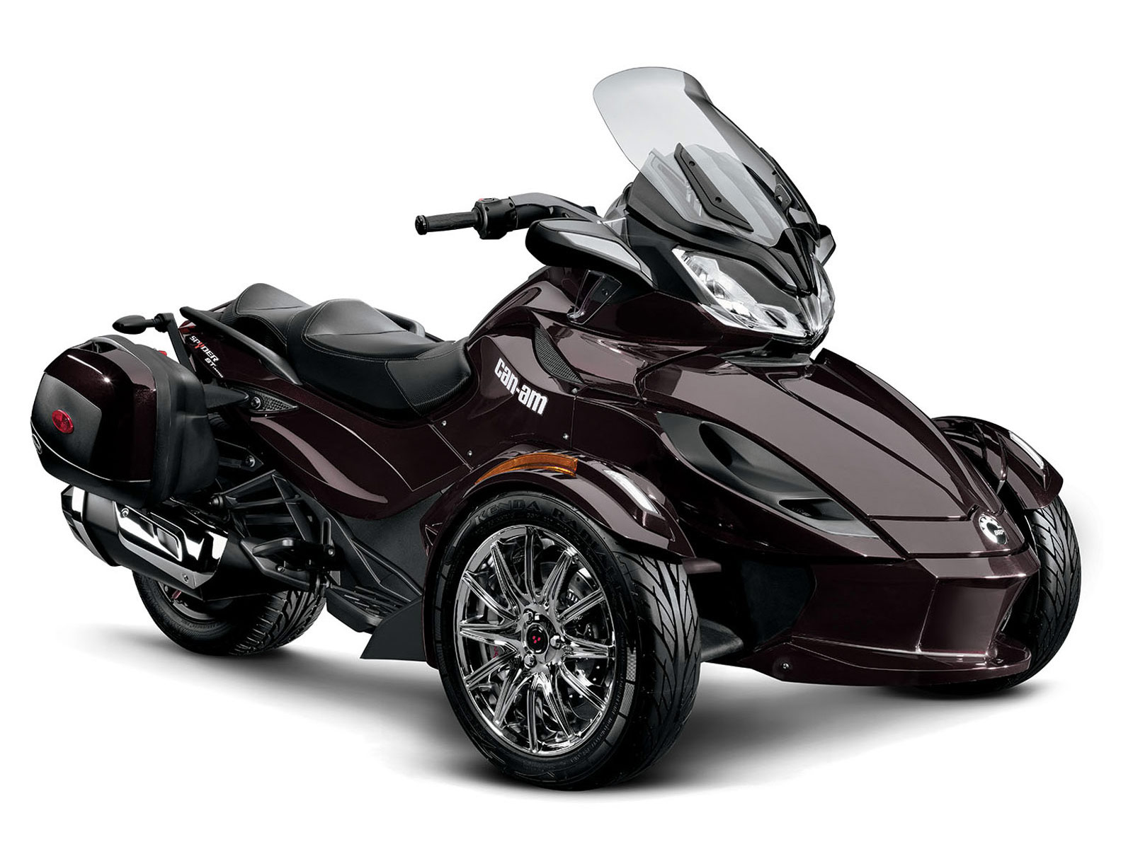 2013 can am spyder st limited motorcycle photos and specs for Can am spyder motor