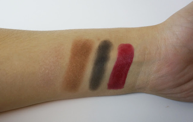Ipsy September glam bag swatches