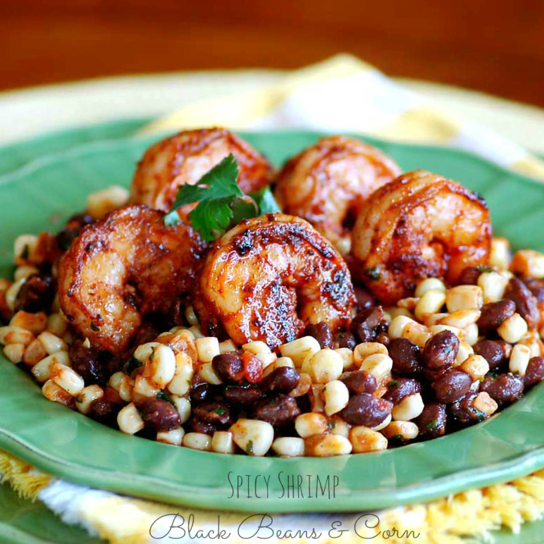 Savoring Time in the Kitchen: Spicy Shrimp, Black Beans ...