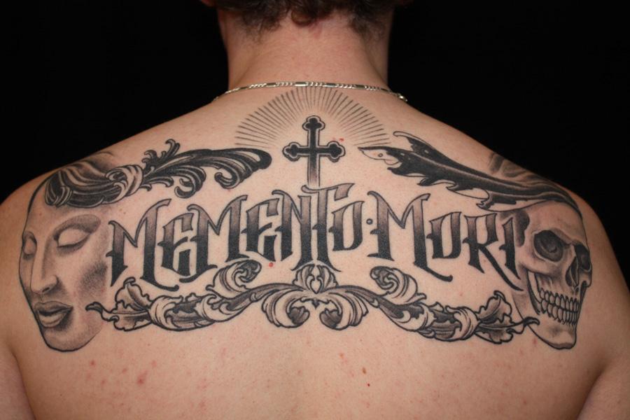 letter tattoo for men