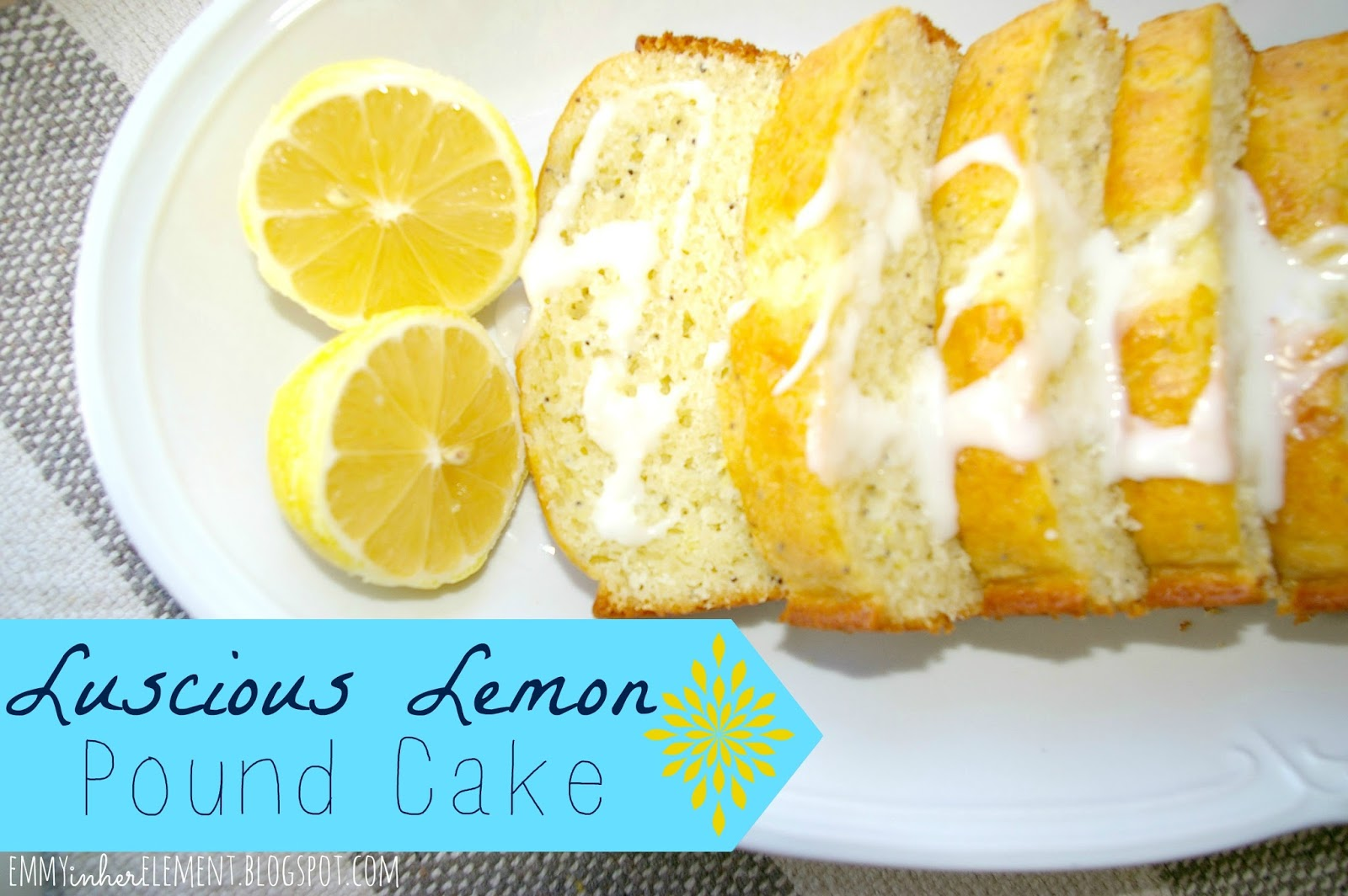 Barefoot Contessa Lemon Poppyseed Pound Cake