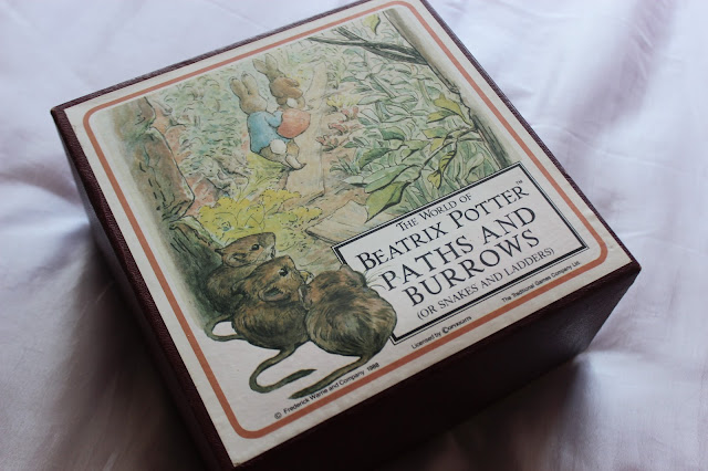 the world of beatrix potter paths and burrows or snakes and ladders