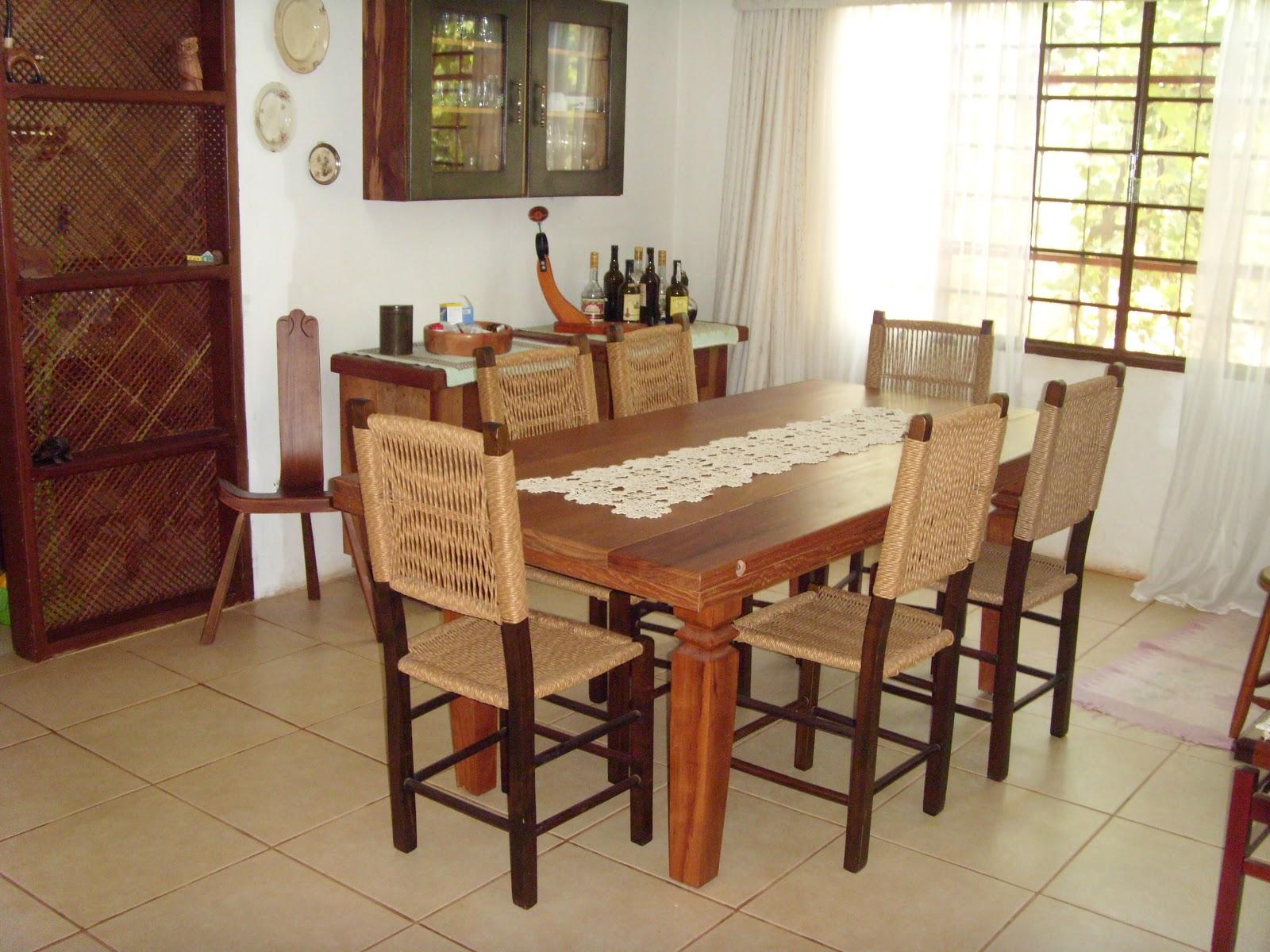 Sala De Jantar Em Campo Grande Ms ~ BAZAR DE CASA Sala de jantar estilo colonial com 06 cadeiras