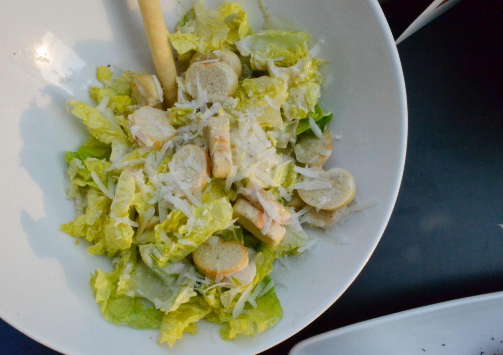 ceasar salad starter frankie and bennys fort glasgow