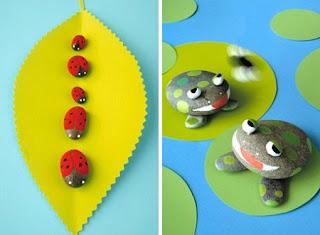 Interesantes y ecol gicas formas de decorar - Decorar piedras de rio ...
