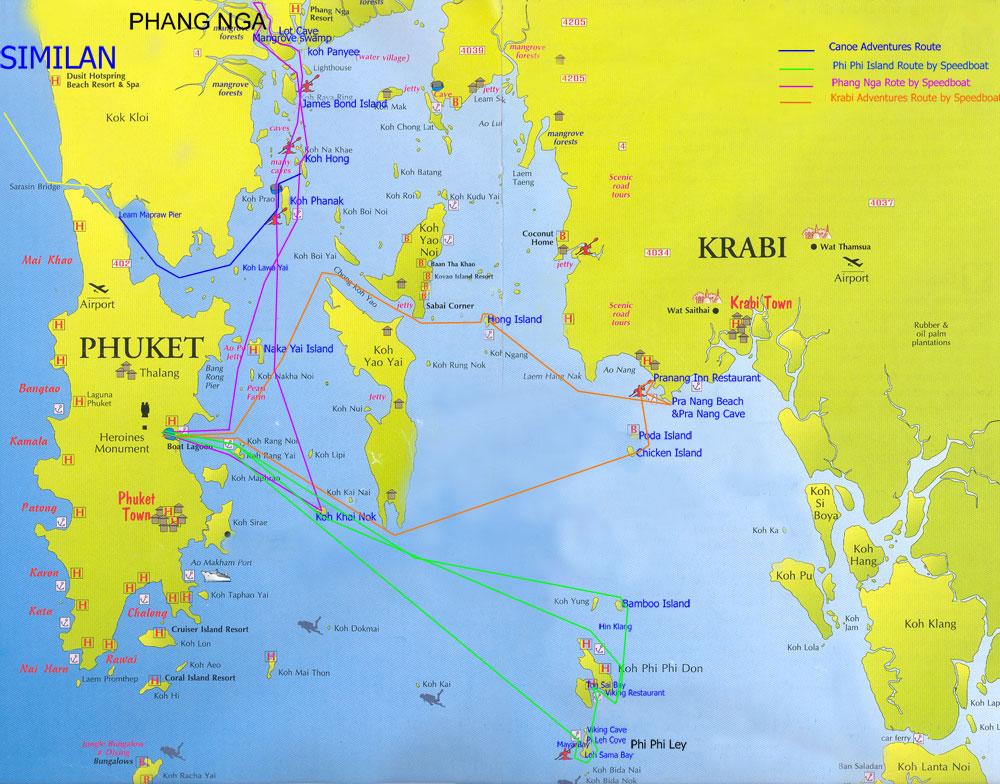 Holiday to singapore and southeast asia phuket and phang nga province