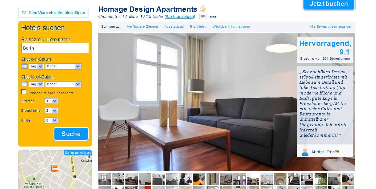 Vorkassebetrug fraud scam for Design hotel lizum 1600