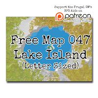 Free Map047: Lake Island