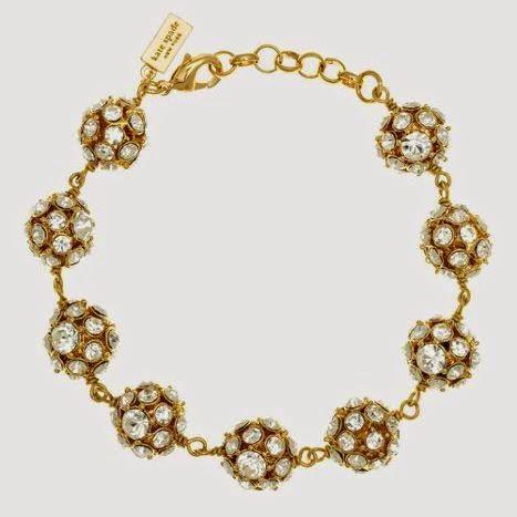 Kate Spade Lady Marmalade gold bracelet