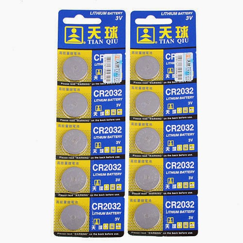 10x CR2032 BR2032 DL2032 2032 EA-2032C 3V Lithium Button Cell Coin Battery New