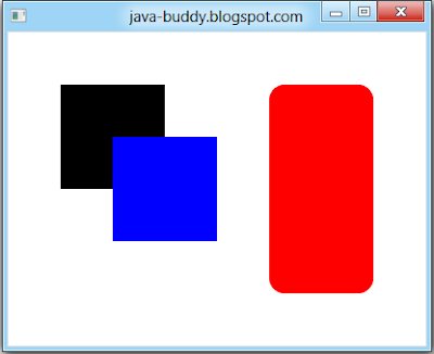 JavaFX 2.0: Draw Rectangle