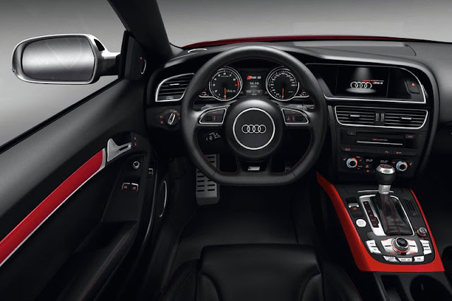2012 Audi RS5 Coupe Front Interior