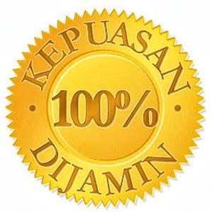 KEPUASAN DIJAMIN 100% GOOD SERVICE, MESRA PELANGGAN