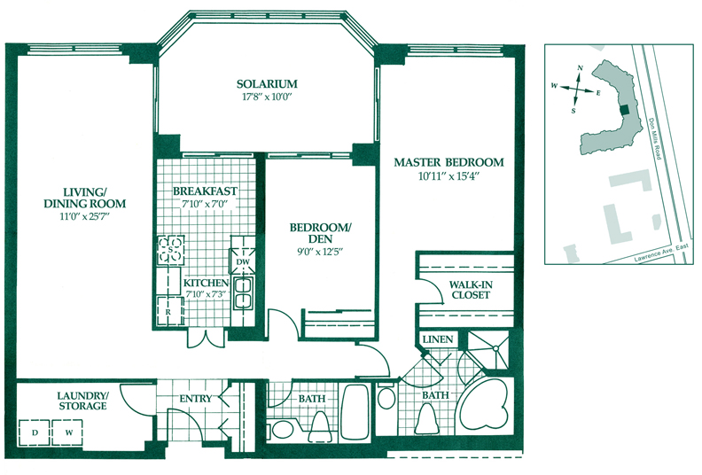 Toronto condo sale floor plan Bathroom blueprints for 8x10 space