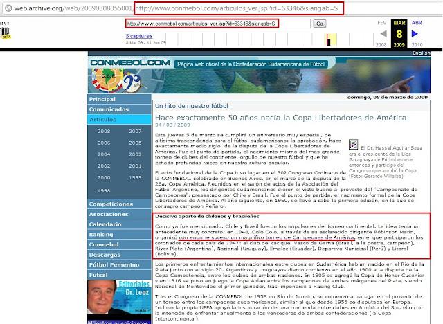 a9c8461bc1 História e Curiosidades do Futebol  Campeonato Sul-Americano de ...