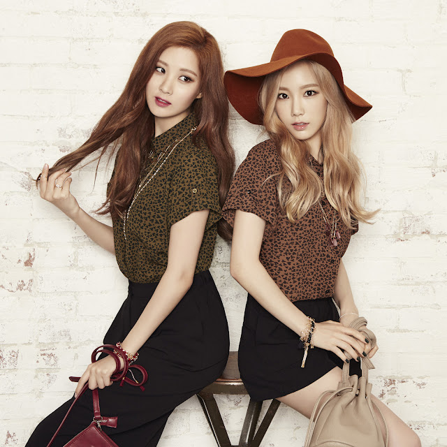 K-Fashion Inspiration: Let's Welcome the Fall by SNSD's Taeyeon and Seohyun