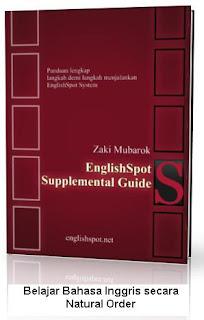 Belajar Bahasa Inggris secara Natural Order
