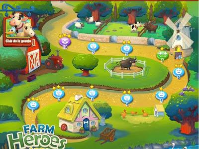 Tablero Farm heroes