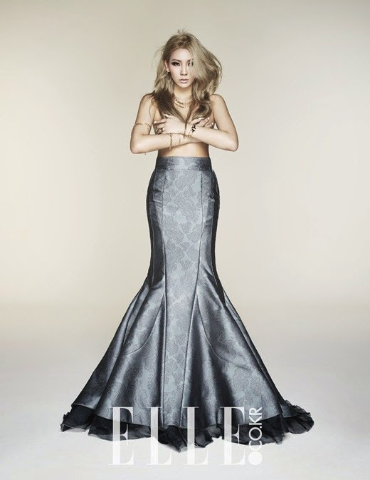 CL goes topless in her pictorial for \'Elle\' :: Daily K Pop News ...