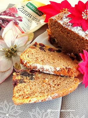 Ekspresowy keks herbaciany