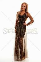 Rochie PrettyGirl Leo Cover Brown (PrettyGirl)