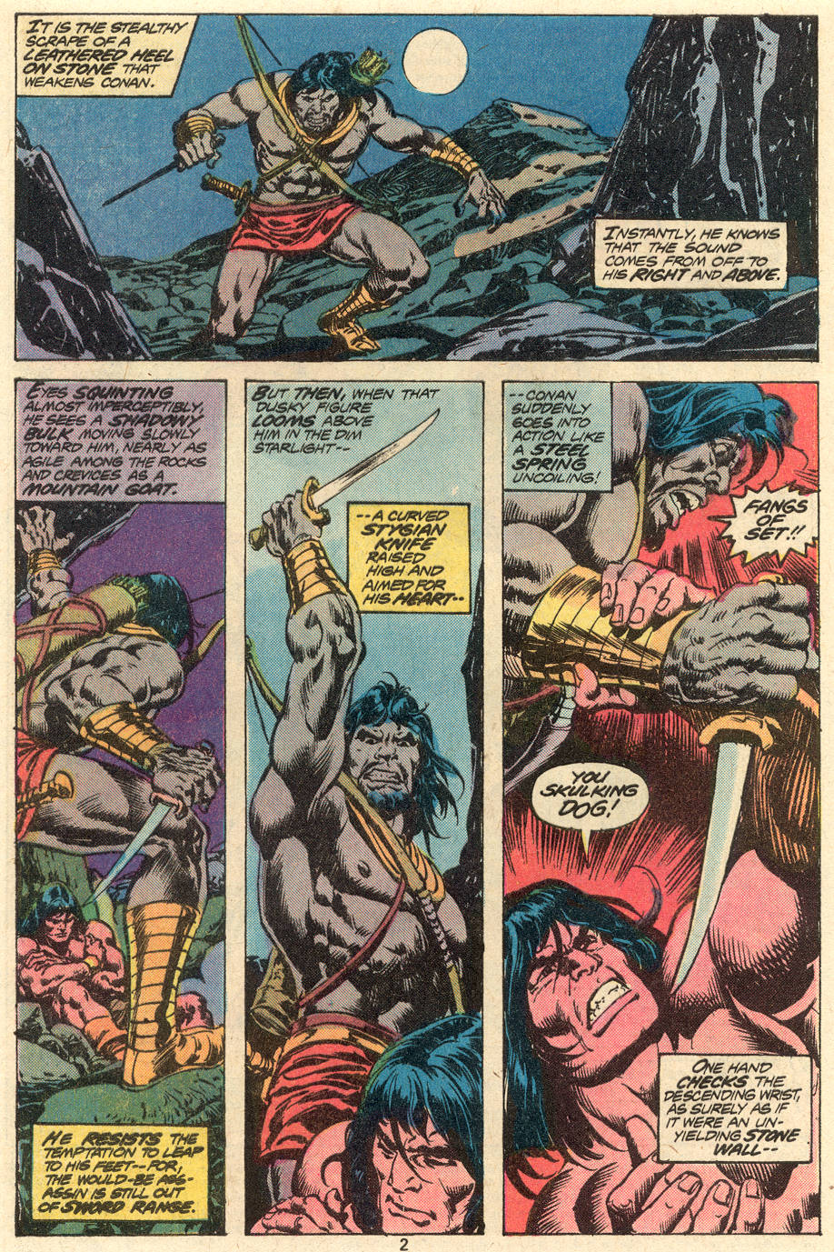 Conan the Barbarian (1970) Issue #79 #91 - English 3