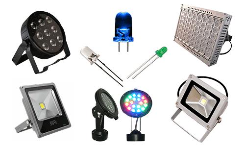 Применение светодиодных прожекторов в освещении улицы