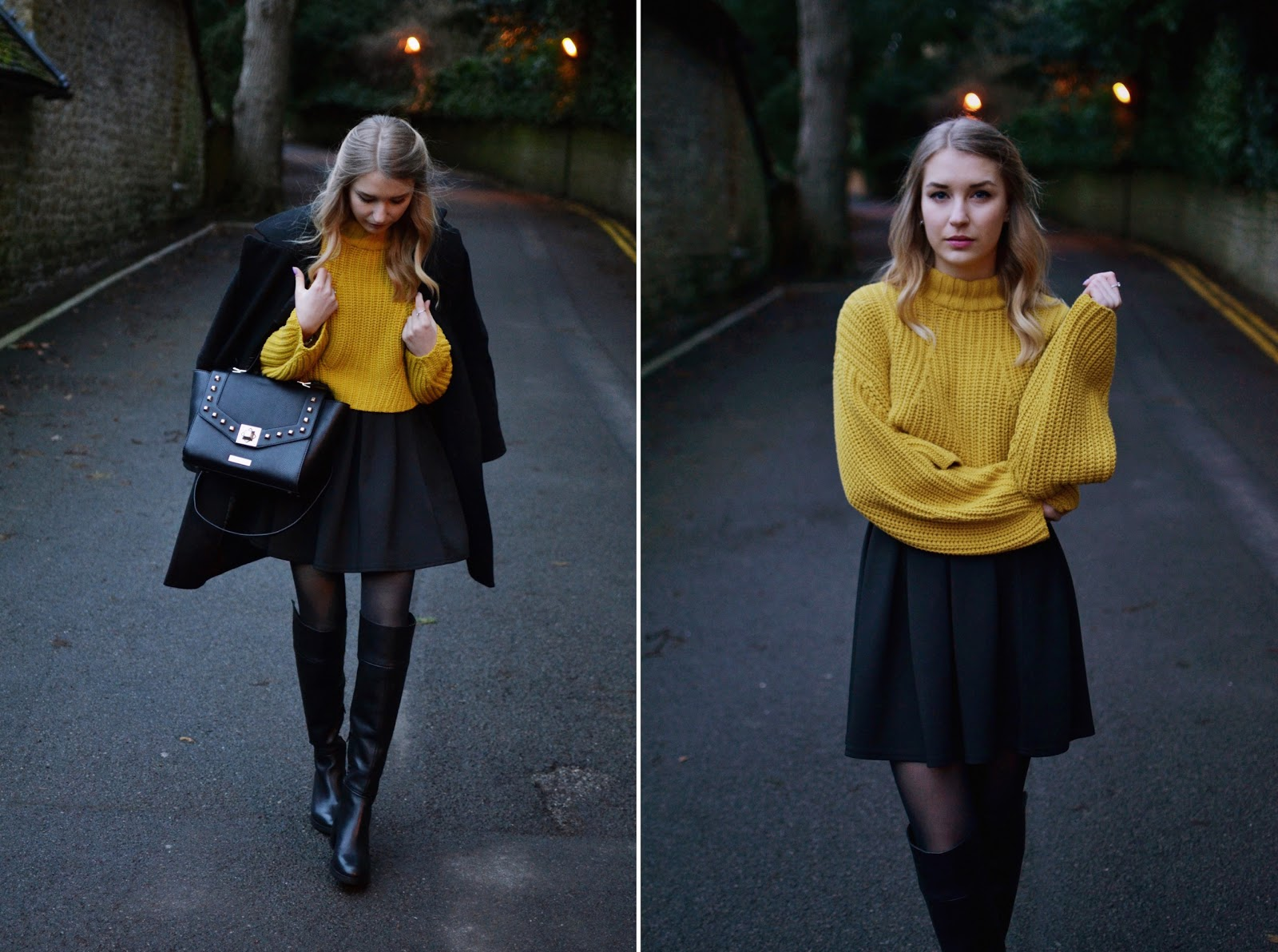 How to wear overknee boots blogger