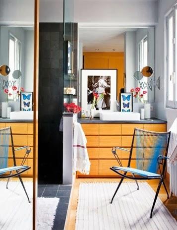 Artystyczne wnętrze, wyjątkowy design łazienki