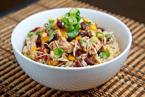Crockpot Chicken Santa Fe