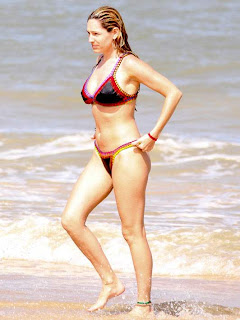 Kelly Brook Swimwear Pics, Kelly Brook Ibiza Beach Pics