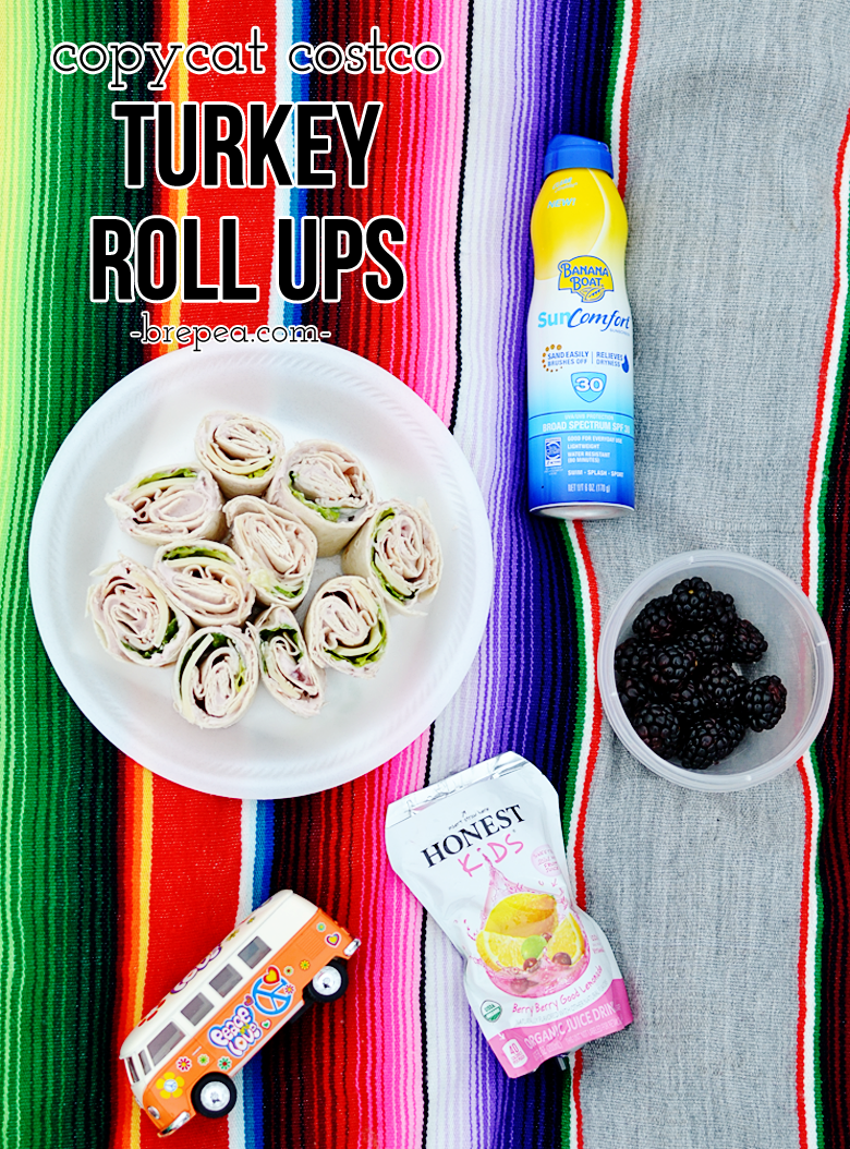 One of the best copycat recipes! Costco turkey pinwheel rollups, perfect for park picnics or the perfect boating food!