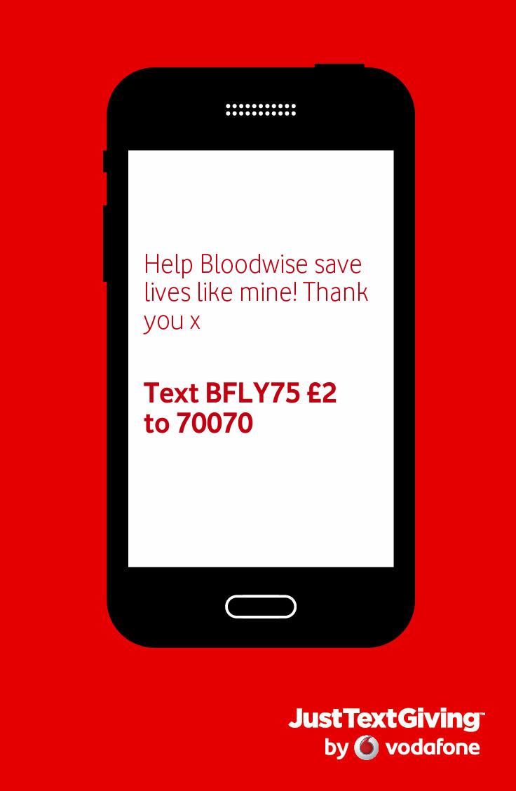Help Bloodwise save lives like mine