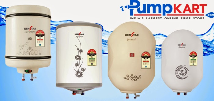 Buying the best Kenstar water heaters @ Pumpkart.com
