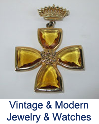 Vintage & Modern Jewelry & Watches