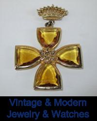 Vintage & Modern Jewelry & Watches
