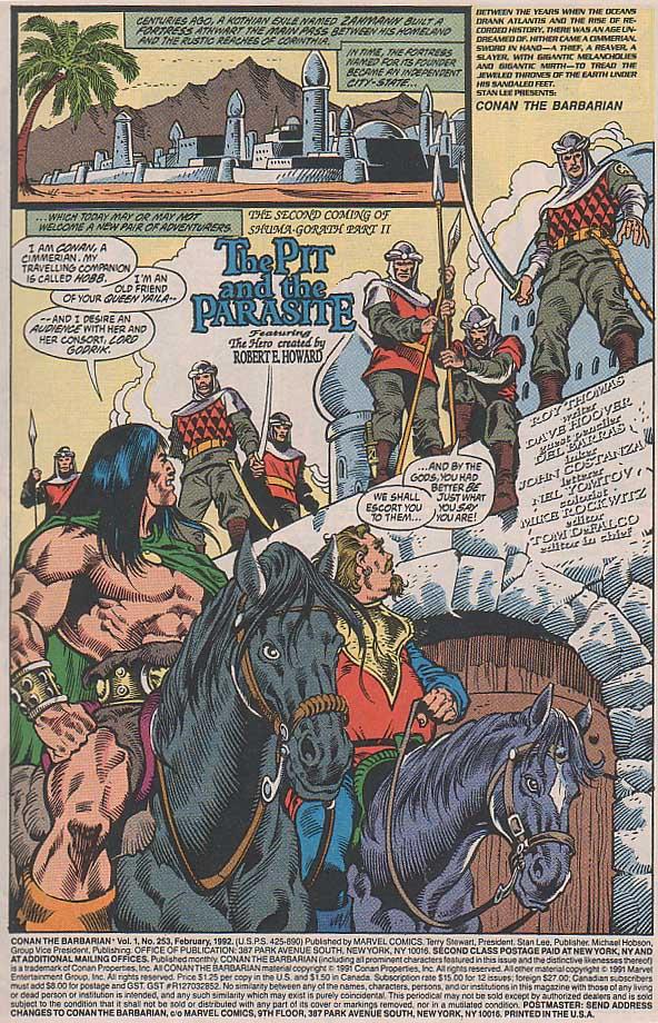 Conan the Barbarian (1970) Issue #253 #265 - English 2