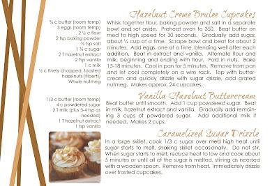 Landee See, Landee Do: Hazelnut Creme Brulee Cupcakes