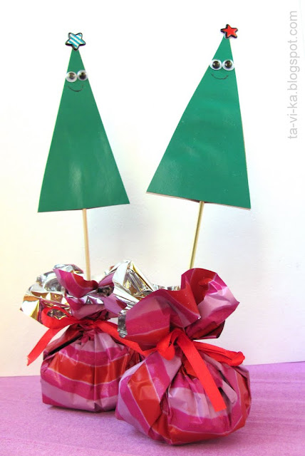 Новогодняя елочка из бумаги своими руками Christmas-tree