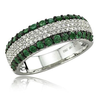 Sweet Craftiness Pakistani White Gold Rings Design