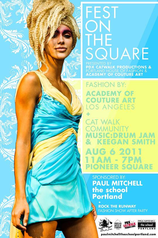 Paul Mitchell the school Portland & Academy of Couture Art 2011