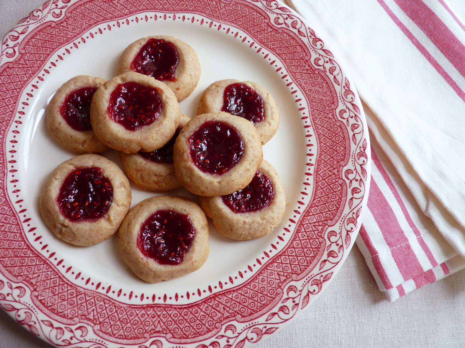 Thumbprint cookies with pecans recipe